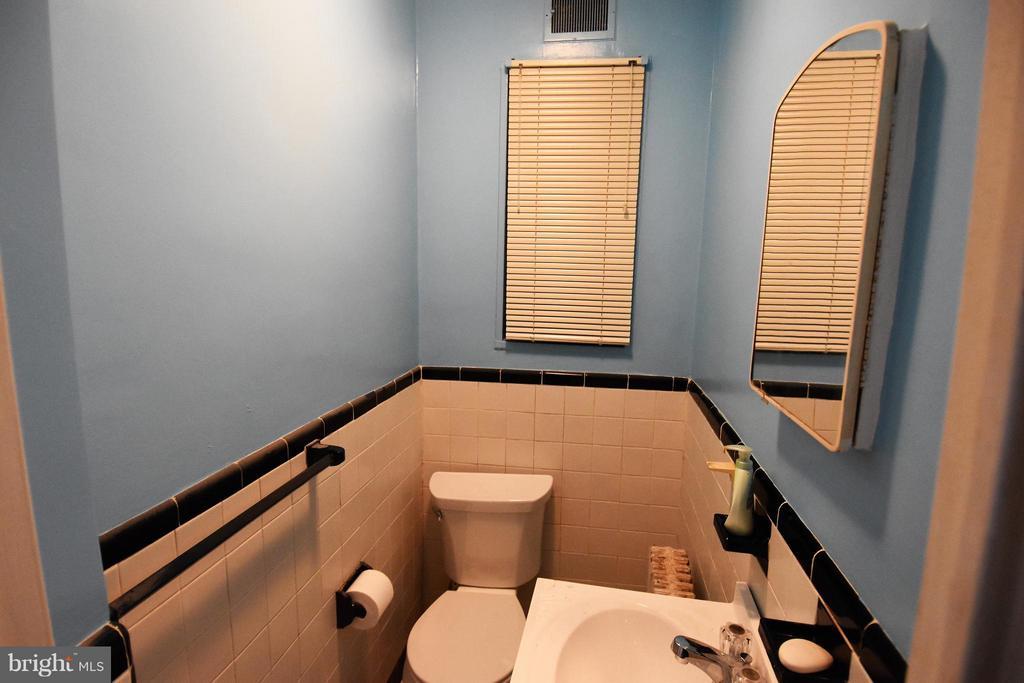 Half Bath - 7527 9TH ST NW, WASHINGTON