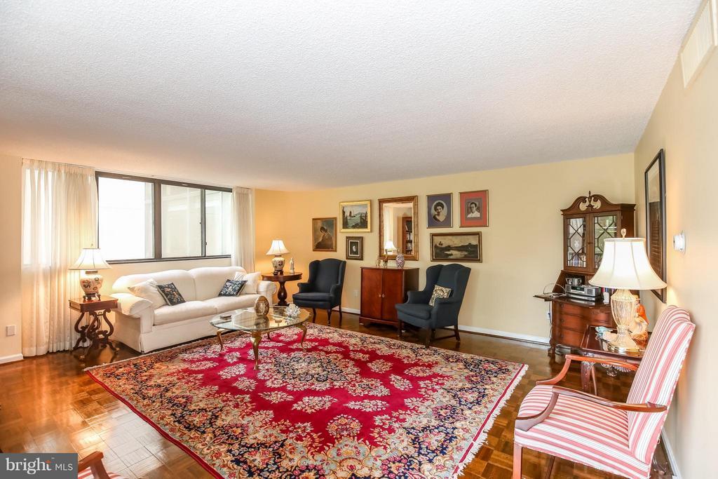 Living Room - 1101 ARLINGTON RIDGE RD #201, ARLINGTON