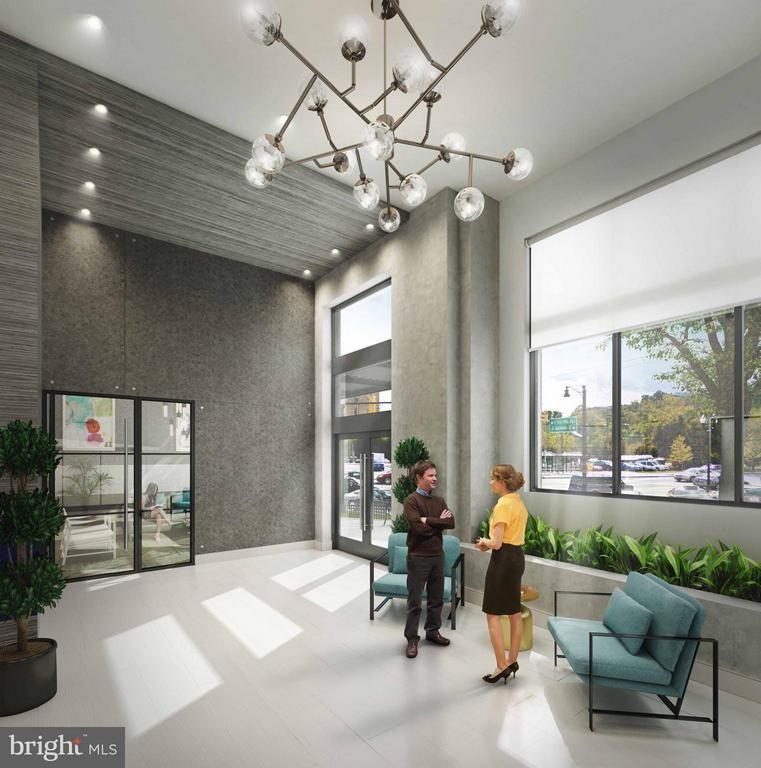 Main Resident Lobby - 989 BUCHANAN ST S #413, ARLINGTON