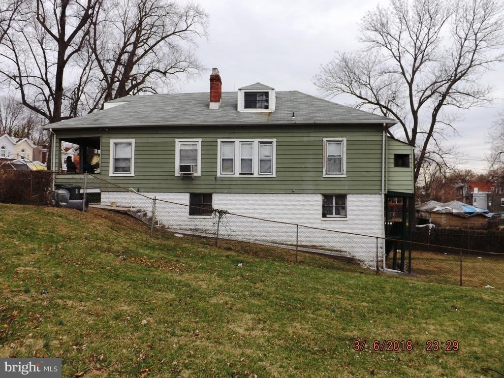 Single Family for Sale at 3435 Mondawmin Ave Baltimore, Maryland 21216 United States