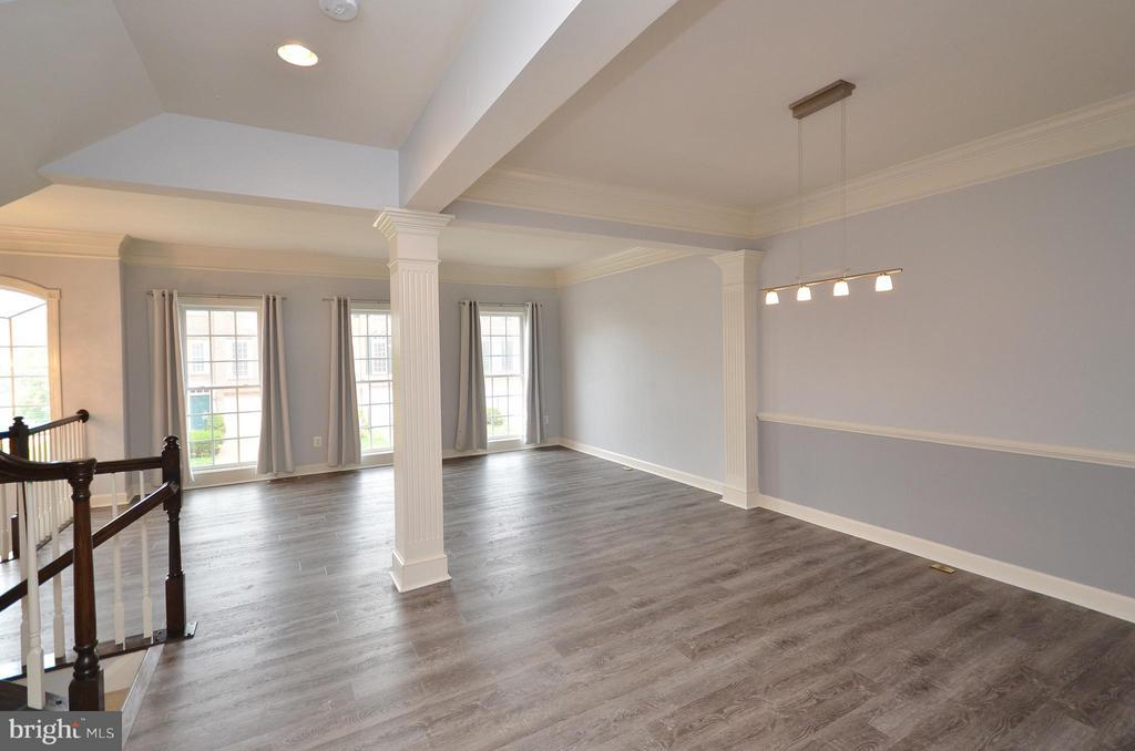 Dining Room with New Luxury Vinyl Floors - 41833 PROVERBIAL TER, ALDIE