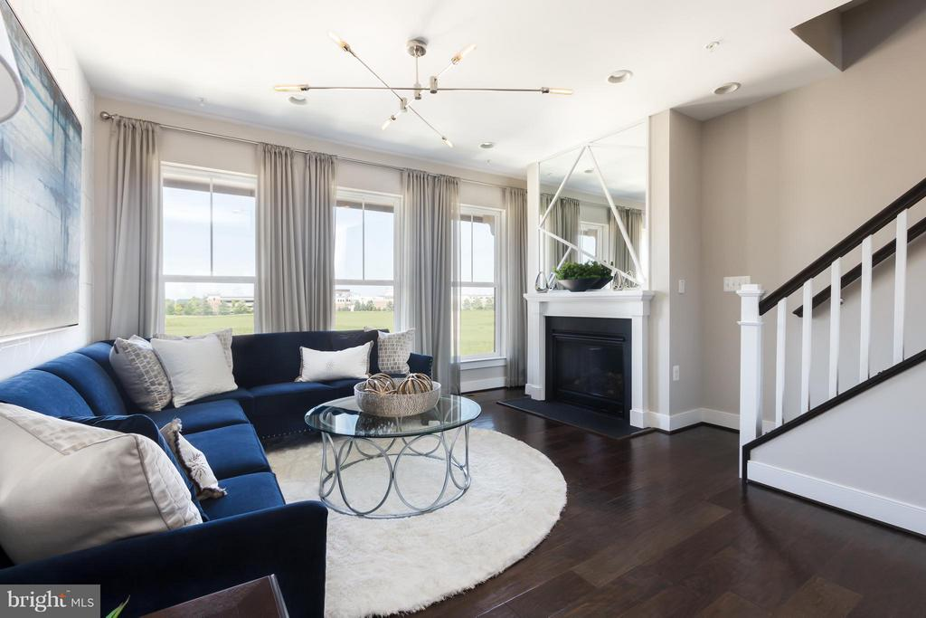 Living Room - 22988 CABRILLO TER #LOT 5891, BRAMBLETON