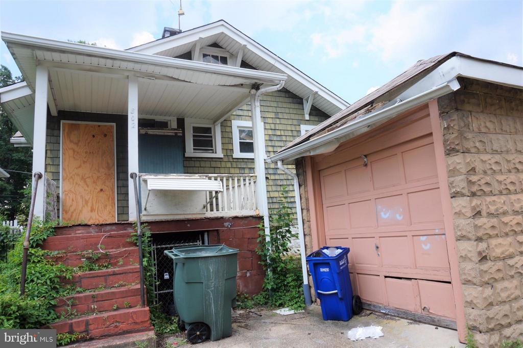 Exterior (Rear) - 802 RITTENHOUSE ST NW, WASHINGTON