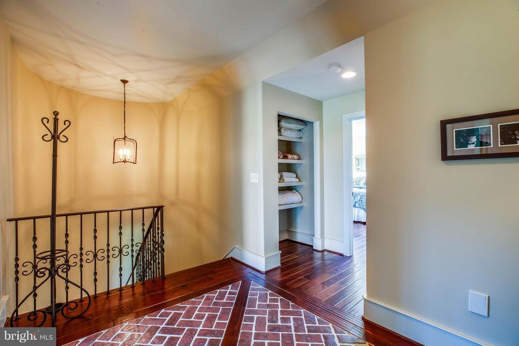 Upstairs Bedroom Foyer Area~Brick Tile Inlay - 3 MERIDAN LN, STAFFORD