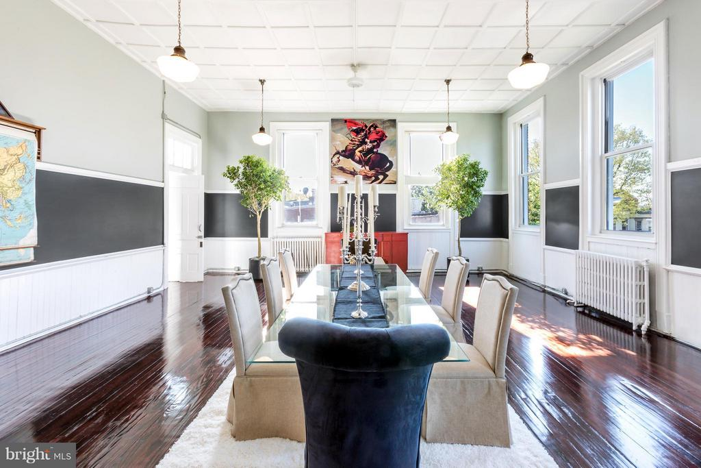 Dining Space - 1375 MARYLAND AVE NE #H, WASHINGTON