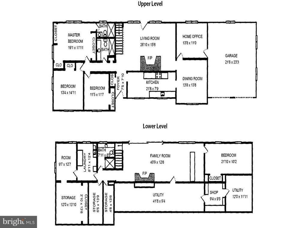 Home Depot Floorplan - 10700 RIVER RD, POTOMAC