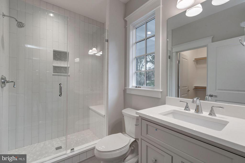 Granite and Ceramic Tile in all 5/6 Baths - 8232 ROBEY AVE, ANNANDALE