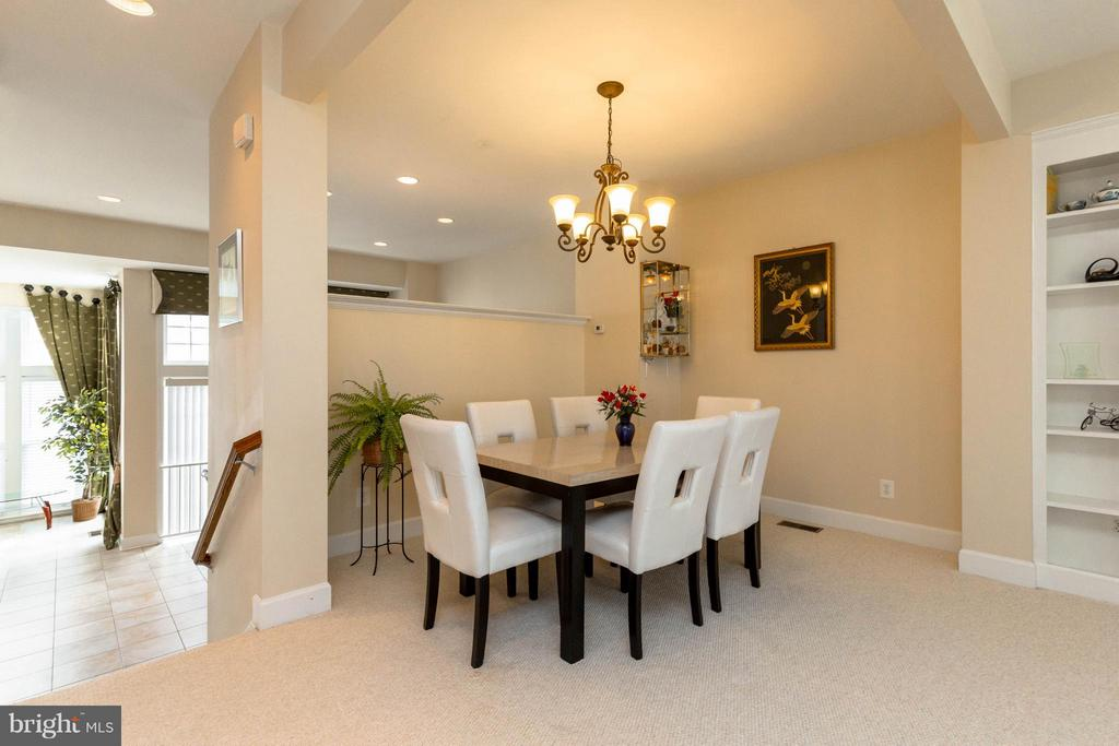 Second dining area - 2373 BROOKMOOR LN, WOODBRIDGE