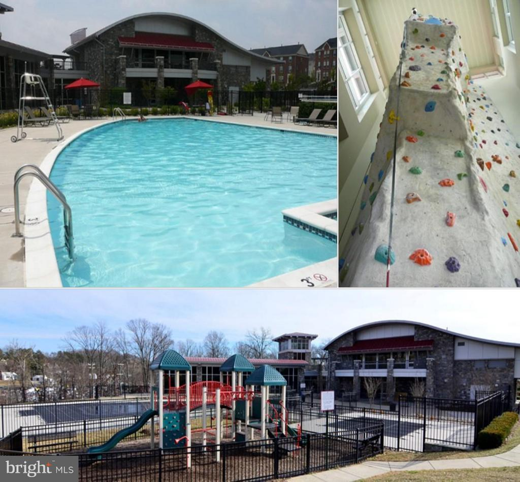 Pools, playground, rock climbing wall, and more! - 2373 BROOKMOOR LN, WOODBRIDGE
