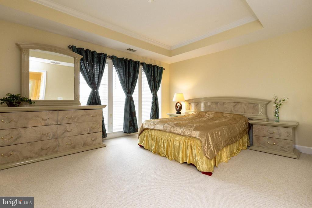 Large master suite w/ walk-in closet - 2373 BROOKMOOR LN, WOODBRIDGE