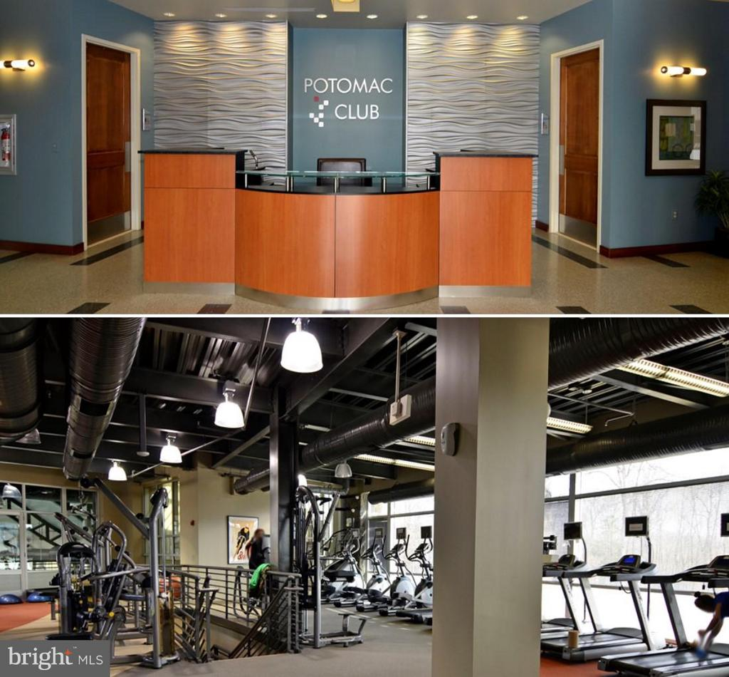 Gym, classes, business center & clubhouse - 2373 BROOKMOOR LN, WOODBRIDGE