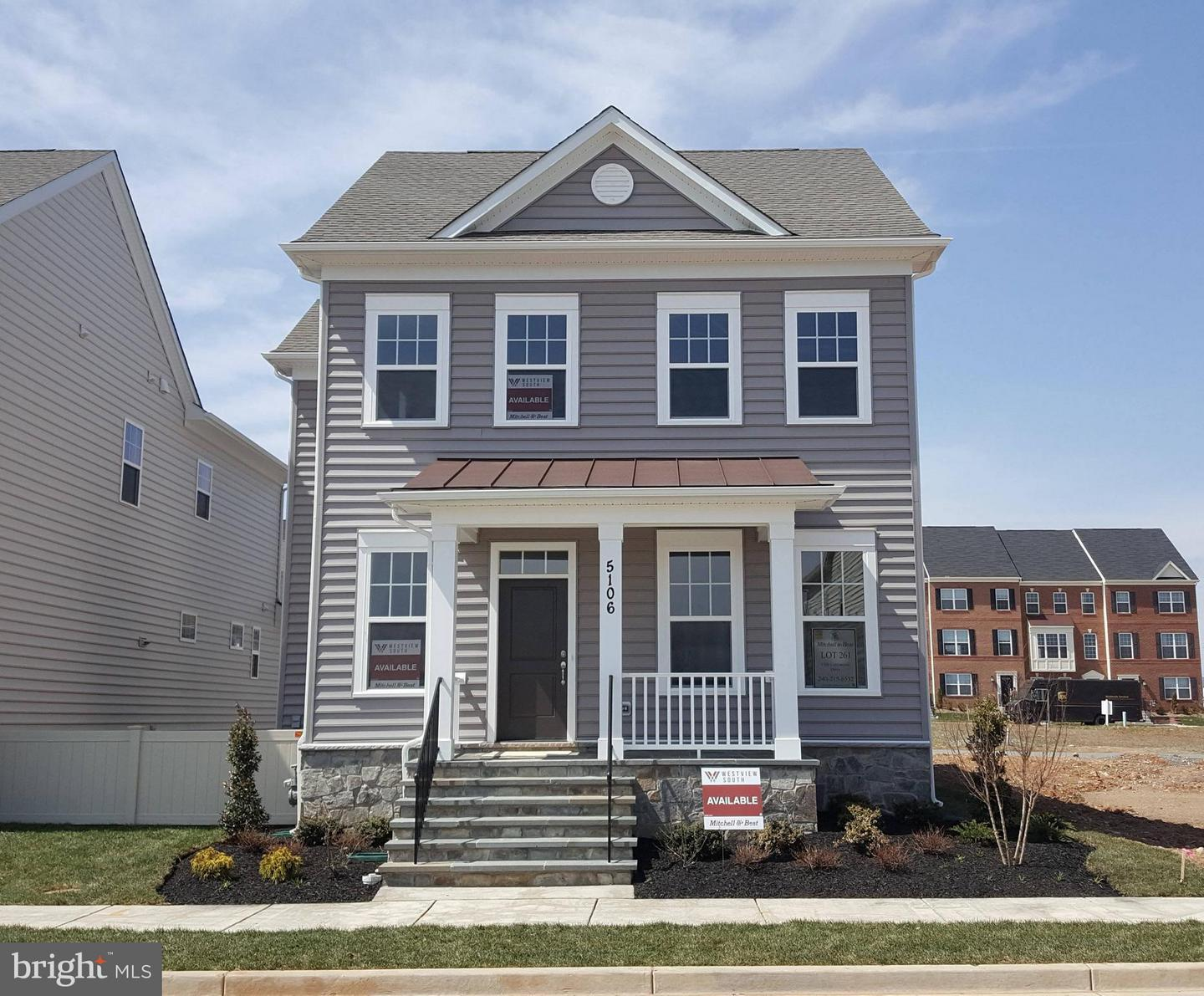 Photo of home for sale at 5106 Continental Drive, Frederick MD
