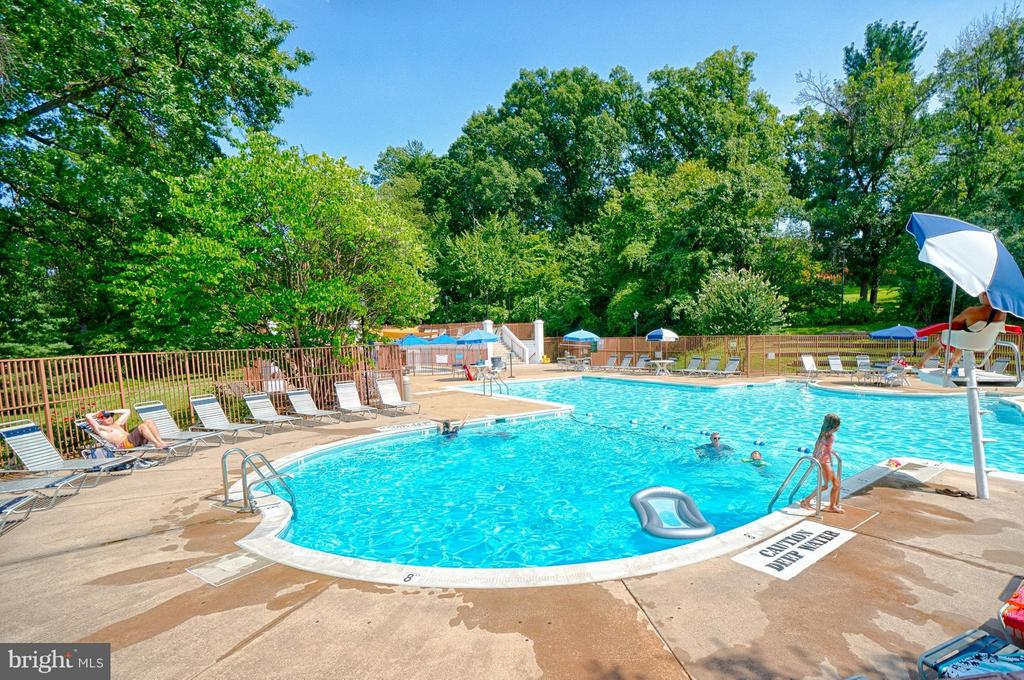 Just steps from three pools - 1258 MARTHA CUSTIS DR, ALEXANDRIA