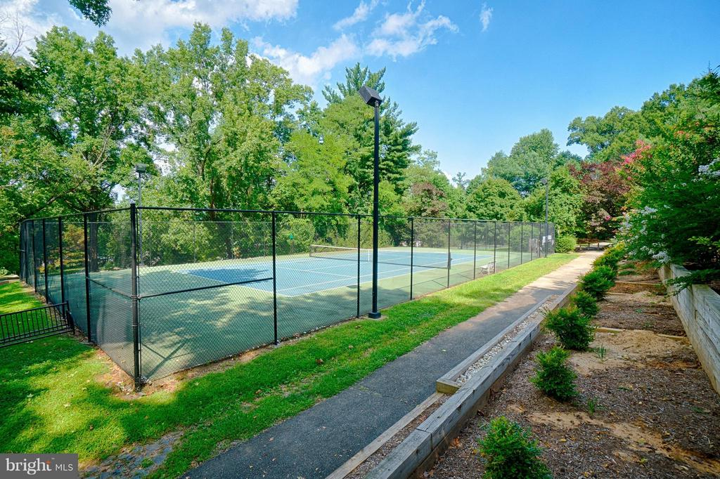 Amazing tennis courts couldn't be closer! - 1258 MARTHA CUSTIS DR, ALEXANDRIA