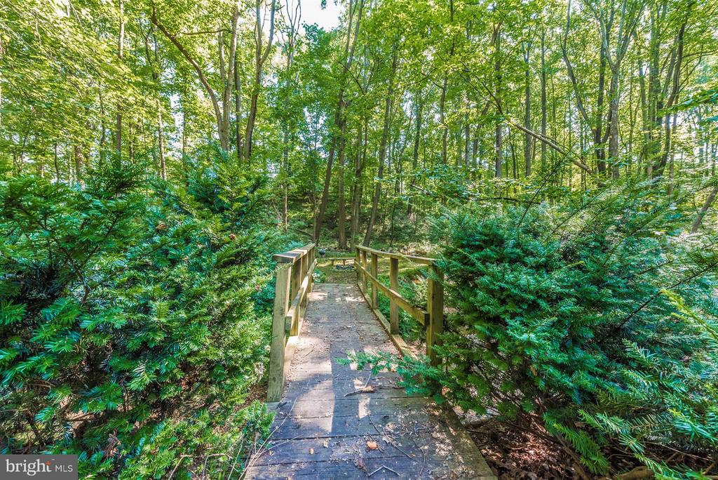 Bridge over creek - 4525 ROOP RD, MOUNT AIRY
