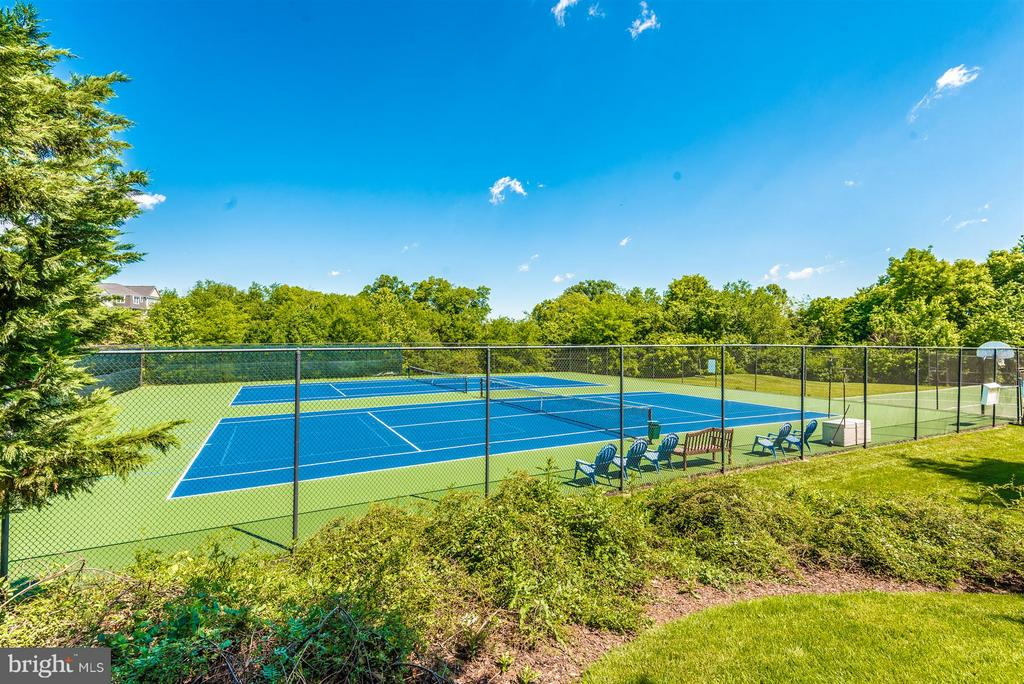 Community Tennis Courts - 819 DUNBROOKE CT, FREDERICK