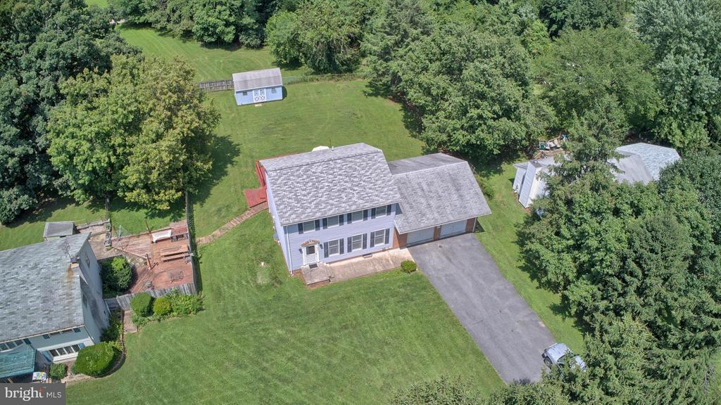 Aerial view of front of property - 6504 FISH HATCHERY RD, THURMONT