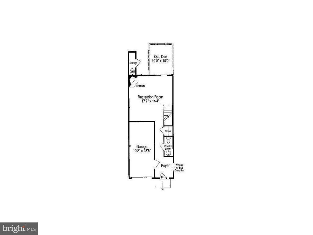Lower Level 1 Floor Plan - 13011 PARK CRESCENT CIR, HERNDON