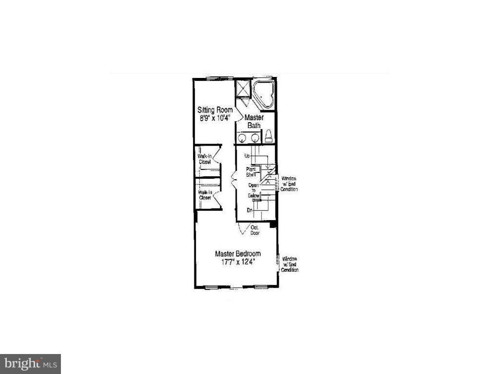 Upper Level 1 Floor Plan - 13011 PARK CRESCENT CIR, HERNDON