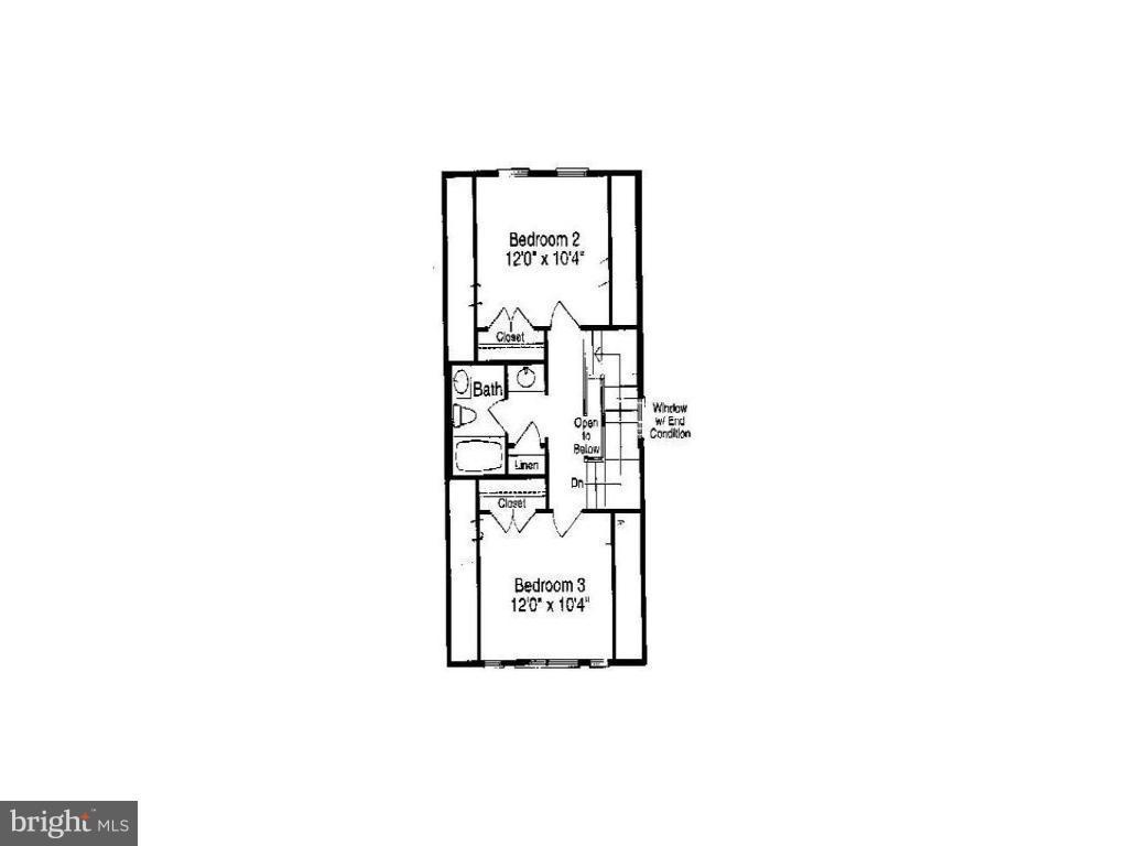 Upper Level 2 Floor Plan - 13011 PARK CRESCENT CIR, HERNDON