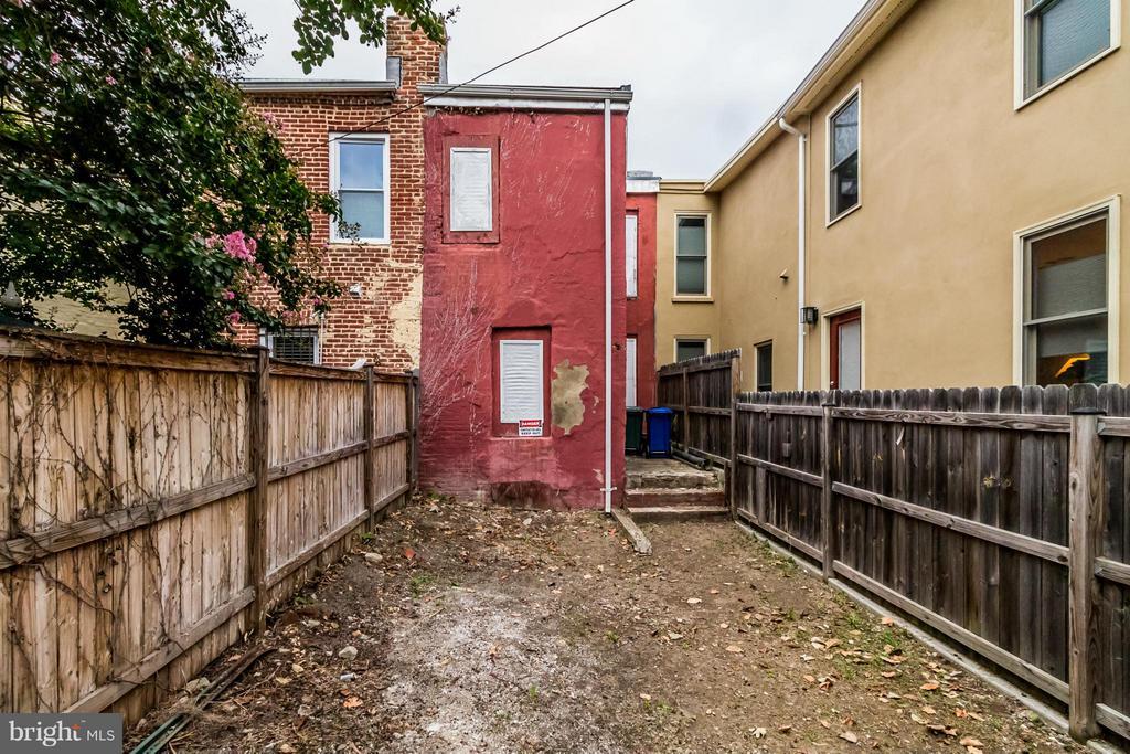 Exterior (Rear) - 1442 T ST NW, WASHINGTON