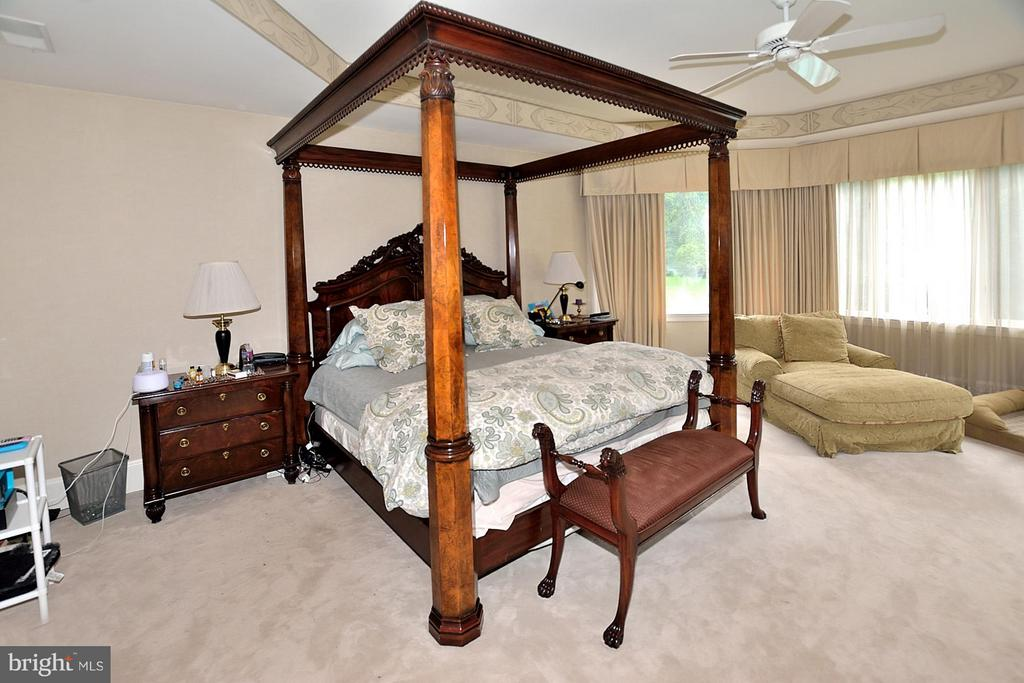 Master Bedroom with Sitting Room - 634 RIVER BEND RD, GREAT FALLS