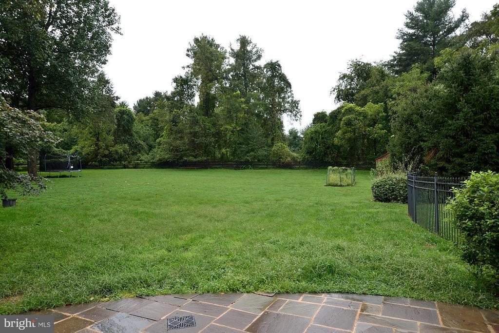 Private Backyard - 634 RIVER BEND RD, GREAT FALLS