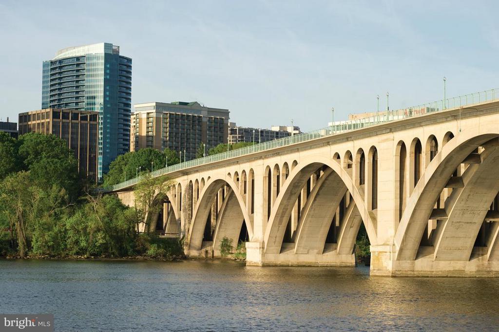 JUST OVER THE BRIDGE TO GEORGETOWN - 1881 N NASH ST #1803, ARLINGTON