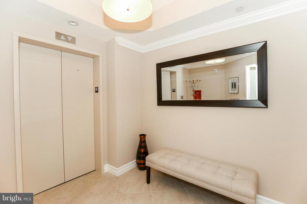 PRIVATE ELEVATOR TO CONDO - 1881 N NASH ST #601, ARLINGTON