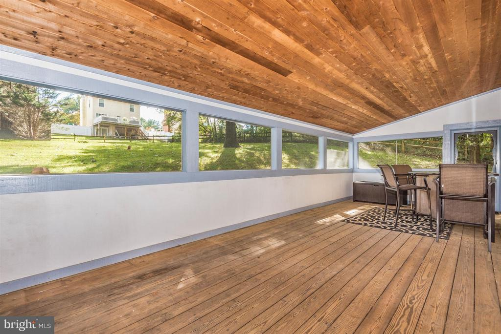 Screened in porch - 6761 SLACKS RD, SYKESVILLE