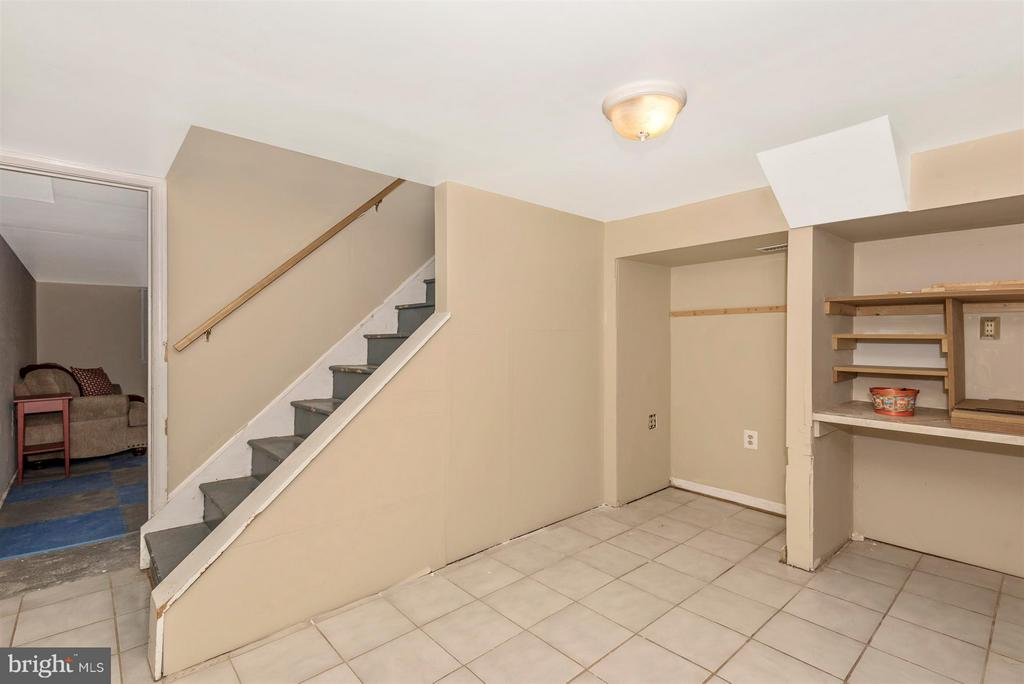 Basement/craft room/storage - 6761 SLACKS RD, SYKESVILLE