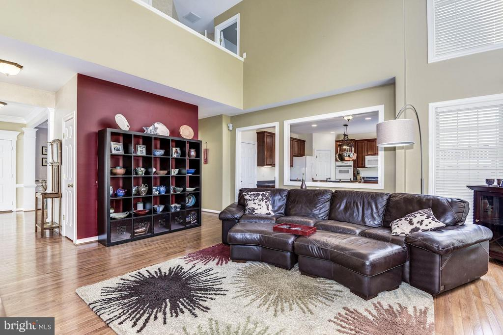 Family Room - 43248 GOLF VIEW DR, CHANTILLY