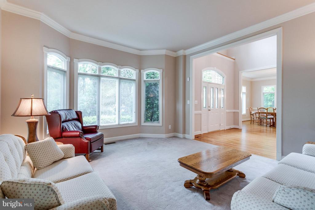 Exquisite trim package throughout - 3242 VALLEY LN, FALLS CHURCH