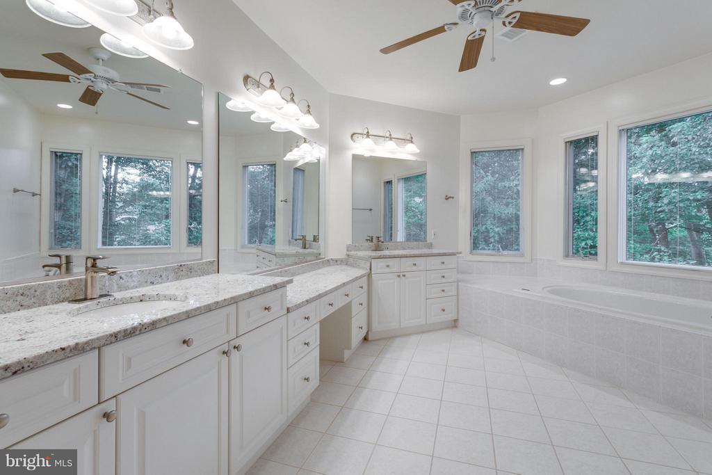 Loads of counter space -- new granite - 3242 VALLEY LN, FALLS CHURCH