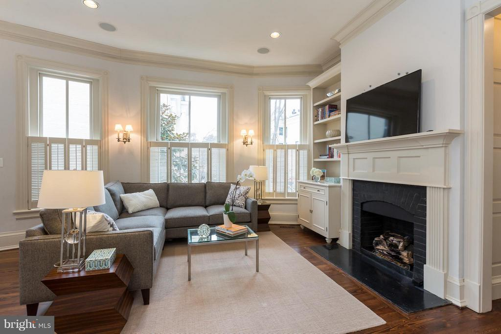 Family Room - 1515 31ST ST NW, WASHINGTON