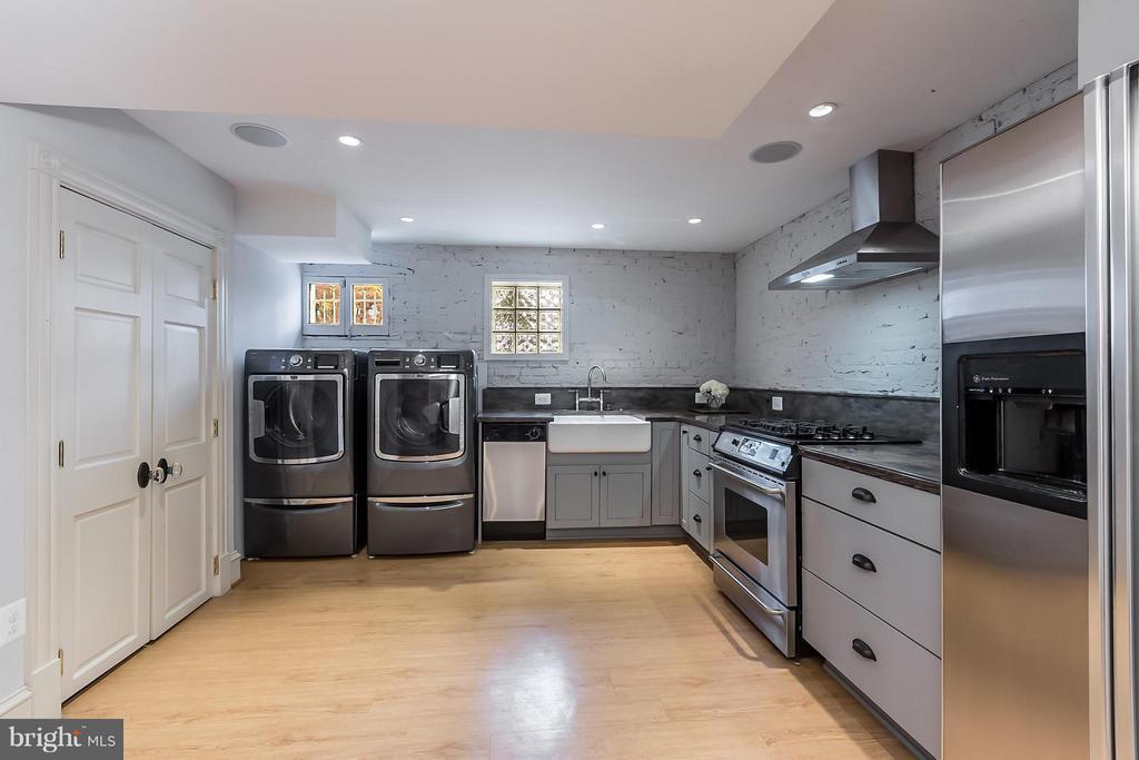 Lower Level Kitchen - 1515 31ST ST NW, WASHINGTON