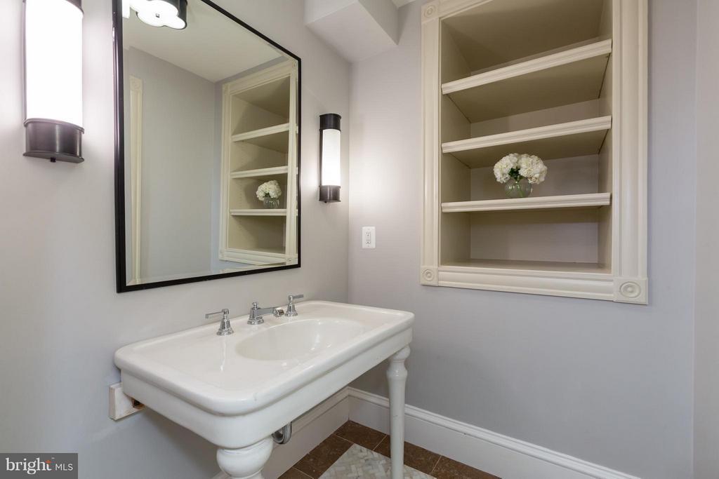 Lower Level Bath - 1515 31ST ST NW, WASHINGTON