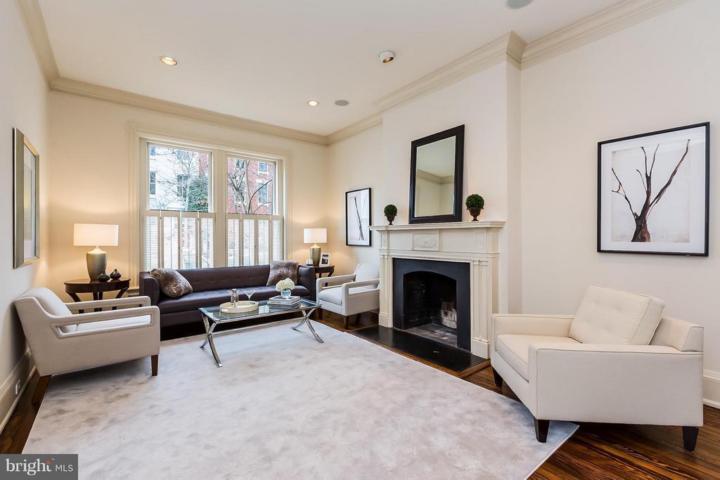 Living Room - 1515 31ST ST NW, WASHINGTON