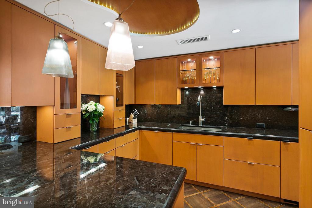 Kitchen - 3030 K ST NW #PH217, WASHINGTON