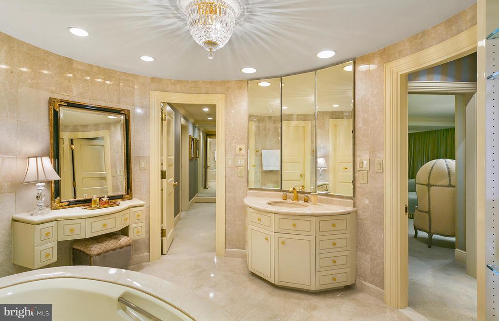 Her Master Bath - 3030 K ST NW #PH217, WASHINGTON
