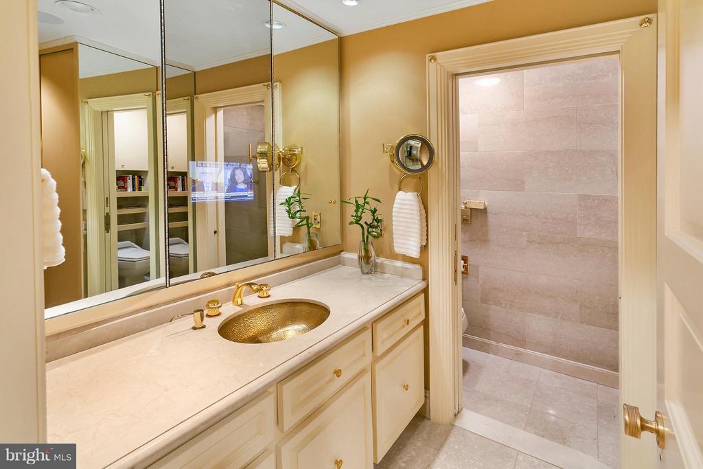 His Master Bath - 3030 K ST NW #PH217, WASHINGTON