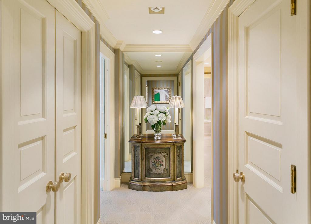 Master Suite Hallway - 3030 K ST NW #PH217, WASHINGTON