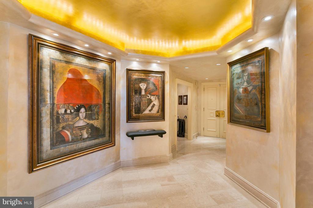 Reception Hall and Foyer - 3030 K ST NW #PH217, WASHINGTON