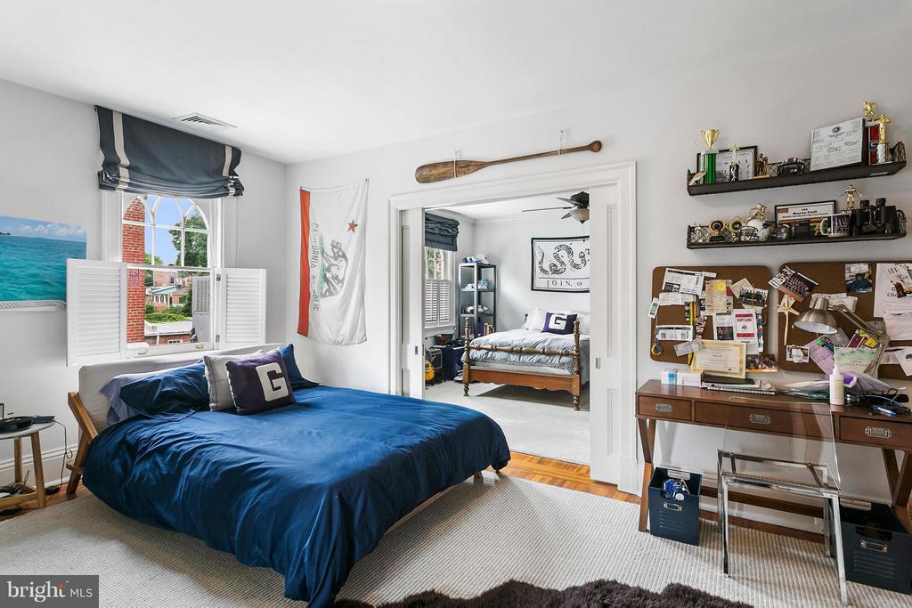 Bedroom - 3301 N ST NW, WASHINGTON