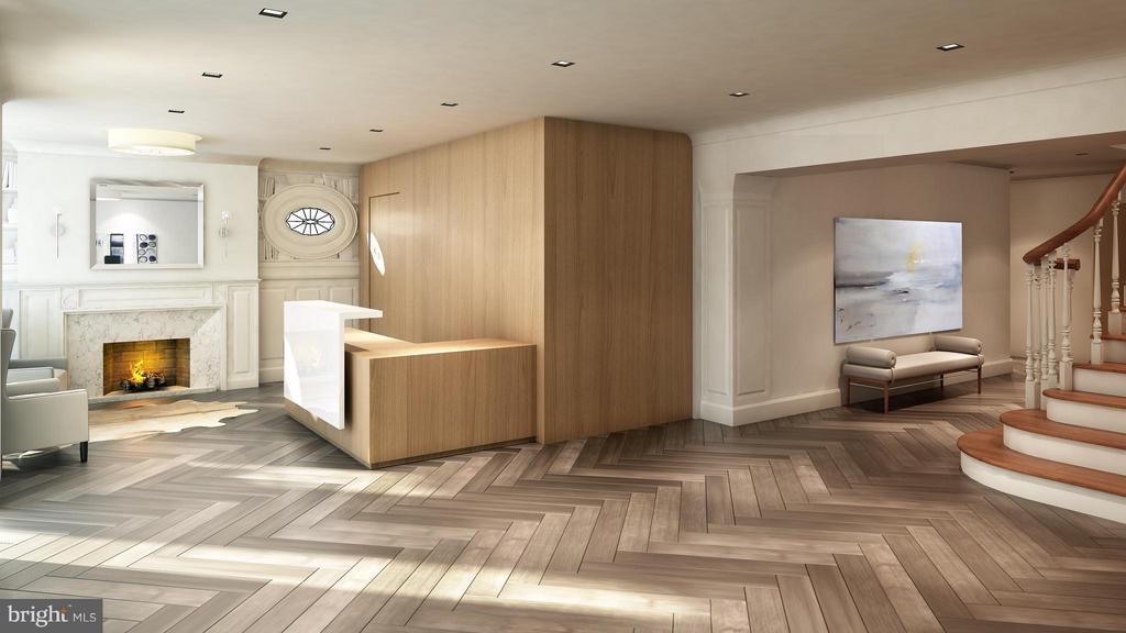 Lobby - artist rendering - 1745 N ST NW #303, WASHINGTON