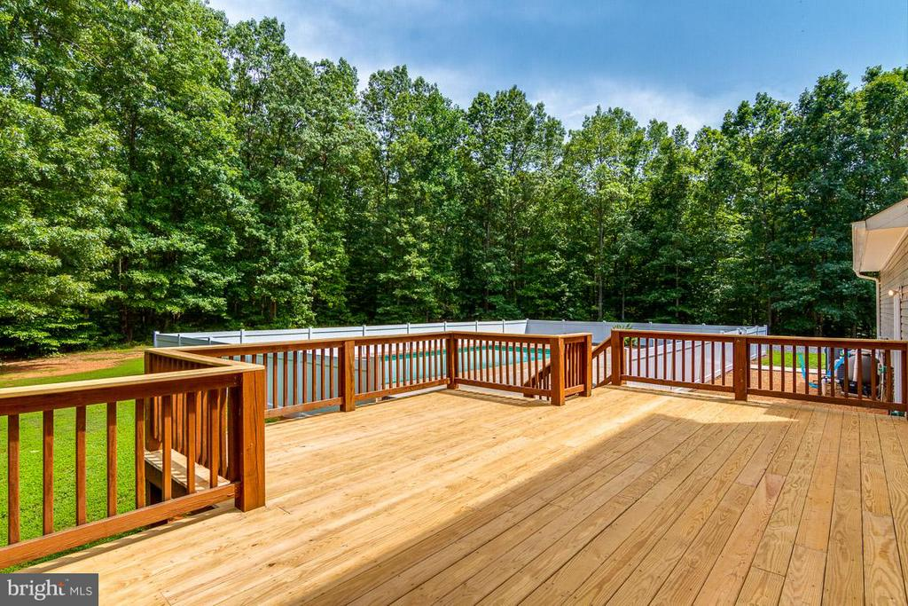 Wow Outdoor Living Deck View - 24197 TIMBER WOLF LN, UNIONVILLE