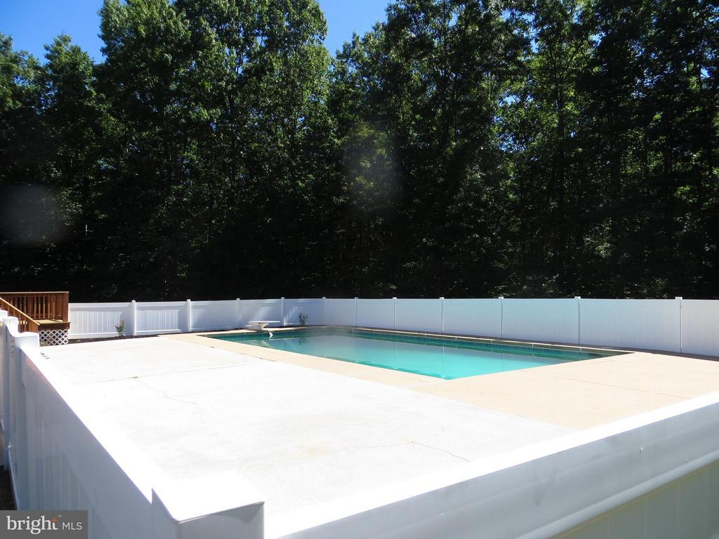 Pool Deck - 24197 TIMBER WOLF LN, UNIONVILLE