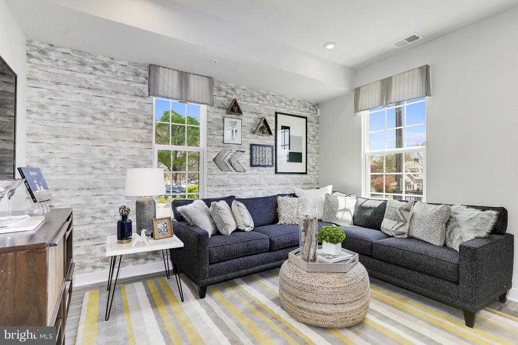 Living Room - 4705 CREST VIEW DRIVE #111D, HYATTSVILLE