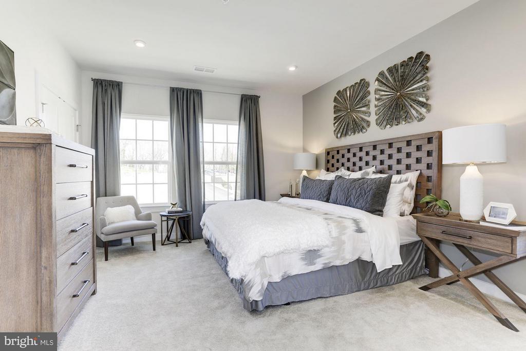 Bedroom (Master) - 4705 CREST VIEW DRIVE #111D, HYATTSVILLE