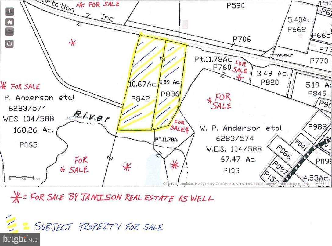 Land for Sale at Mouth Of Monocacy Rd Dickerson, Maryland 20842 United States